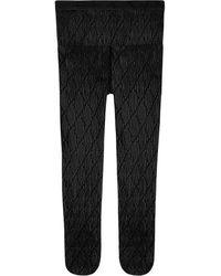 Gucci Grijpende G-panty - Zwart
