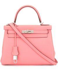 Hermès Сумка Kelly 28 2020-го Года - Розовый