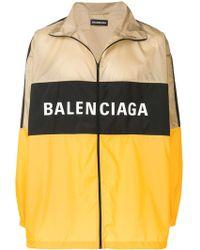 Balenciaga Nylon Trainingsjack - Meerkleurig