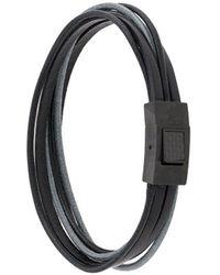 Tateossian Intarsio ブレスレット - ブラック