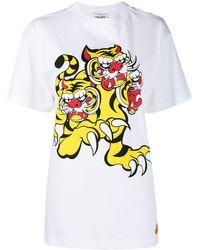 KENZO X Kansai Yamamoto 'three Tigers' Tシャツ - ホワイト