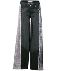 Each x Other - Check Detail Jeans - Lyst