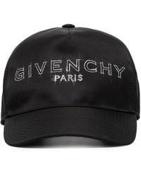 Givenchy Бейсболка С Логотипом - Черный