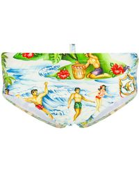 DSquared² - Beach Life Swimming Briefs - Lyst