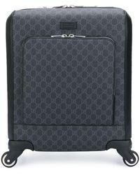 Gucci 'GG Supreme' Koffer - Schwarz