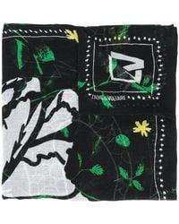 Zadig & Voltaire Delta Viper スカーフ - ブラック