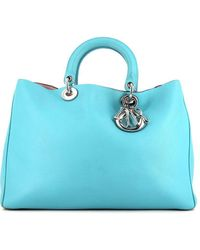 Dior Large Diorissimo Tote - Blue