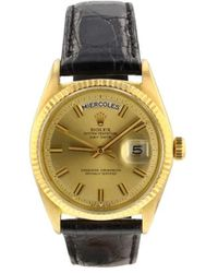 Rolex Montre Day-Date 36mm - Métallisé