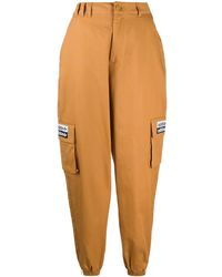 adidas Trefoil-logo Cargo Pants - Brown