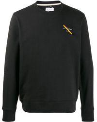 Saturdays NYC ロゴ スウェットシャツ - ブラック