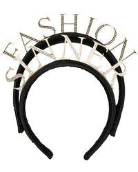 Dolce & Gabbana - 'fashion Sinner' Headband - Lyst