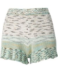 Missoni - Knitted Shorts - Lyst