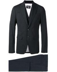 DSquared² London スリーピーススーツ - ブラック