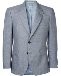 Gieves & Hawkes - Blazer formale aderente - Lyst