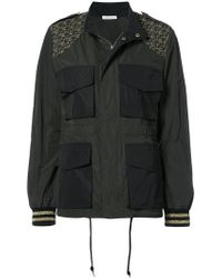 Tomas Maier - Palm Tree Embroidered Pocket Front Jacket - Lyst