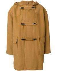 Stella McCartney - Hooded Duffle Coat - Lyst