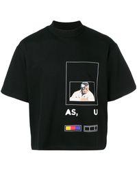 Pyer Moss Fed Up Tシャツ - ブラック