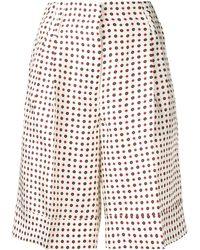 Alberto Biani Knee Length Shorts - White