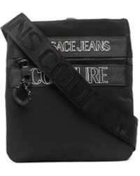 Versace Jeans Couture Сумка-мессенджер С Логотипом - Черный