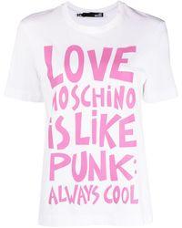 Love Moschino グラフィック Tシャツ - マルチカラー