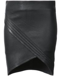 RTA | Mini Wrap Skirt | Lyst
