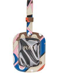 Emilio Pucci Vivara Baby Print luggage Tag - Multicolor
