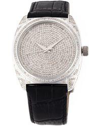 Christian Koban 'dom' Diamond Watch - Black