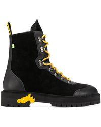 Off-White c/o Virgil Abloh Hiking Boot - Black