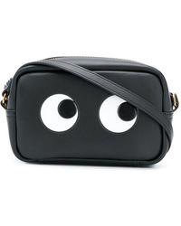 Anya Hindmarch Eyes Crossbody Bag - Черный
