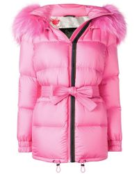 Mr & Mrs Italy - Trimmed Puffer Jacket - Lyst