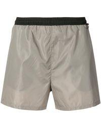 Low Brand - Short à taille contrastante - Lyst