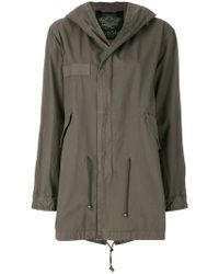 Mr & Mrs Italy - Patched Midi Parka - Lyst