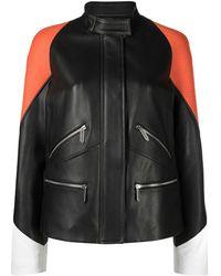 Just Cavalli カラーブロック ジャケット - ブラック