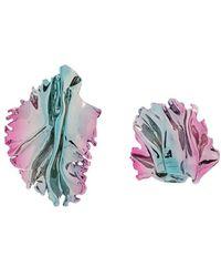 Annelise Michelson Pendientes Sea Leaves - Rosa