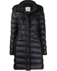 Moncler Hermine パデッドコート - ブラック
