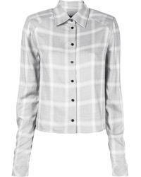 RTA - チェックシャツ - Lyst