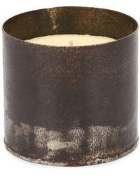 Parts Of 4 Vetiver Scented Candle (475g) - Metallic