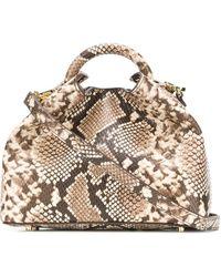 Elleme Baozi ハンドバッグ - マルチカラー