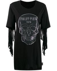 Philipp Plein - フリンジ スカルドレス - Lyst