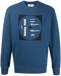 Maison Kitsuné Kool Fox スウェットシャツ - ブルー