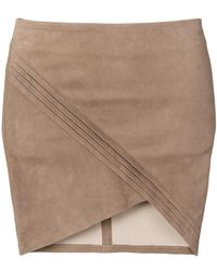 RTA | Wrap-effect Skirt | Lyst