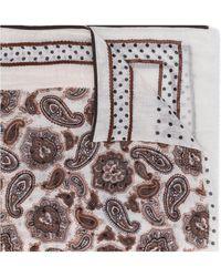 Altea Fular liviano con motivo de cachemira - Multicolor