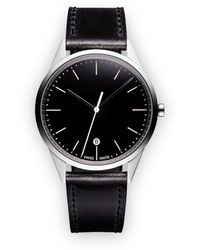 Uniform Wares C36 Date Watch - Zwart