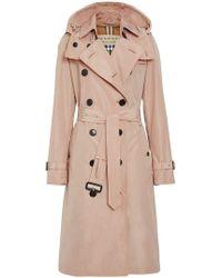 Fur Burberry Winter Women's Trench Coats amp; qBwq0nZr