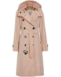 Burberry - Trench à capuche amovible - Lyst