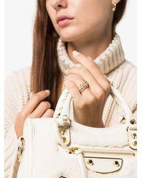 Spinelli Kilcollin Кольцо Petunia Из Желтого Золота И Серебра С Бриллиантами - Металлик
