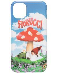 Fiorucci Чехол Для Iphone 11 С Принтом - Синий