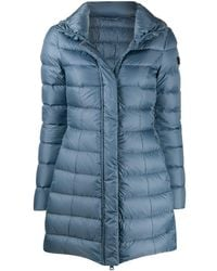 Peuterey Mid-length Down-filled Coat - Blue
