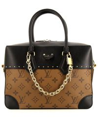 Louis Vuitton Borsa a spalla Malle Pre-owned - Marrone