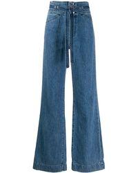 J Brand Jeans Met Wijde Pijpen - Blauw